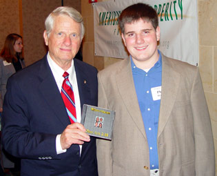 Senator Zell Miller and Philip Winter